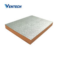 Hvac pre-insulated phenolic air duct panel