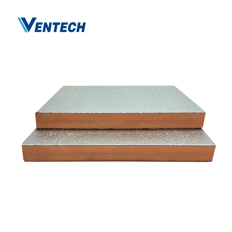 Phenolic foam pre-insulated duct panel