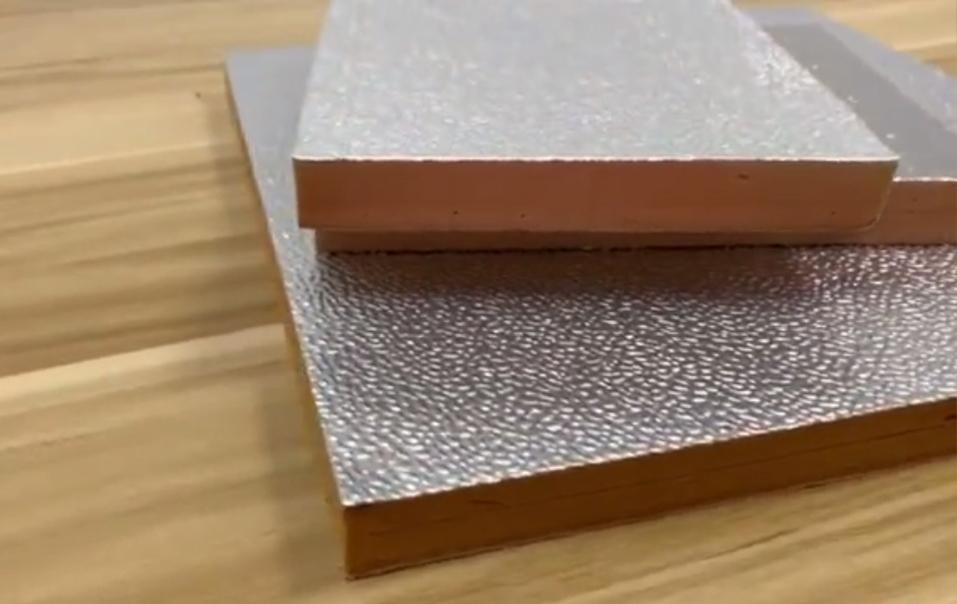 Alu foil phenolic foam board