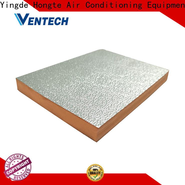 Ventech high-quality foil covered fiberglass duct board manufacturers manufacturer