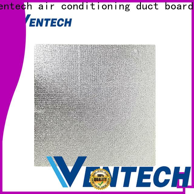Ventech light weight foil covered fiberglass duct board supply manufacturer