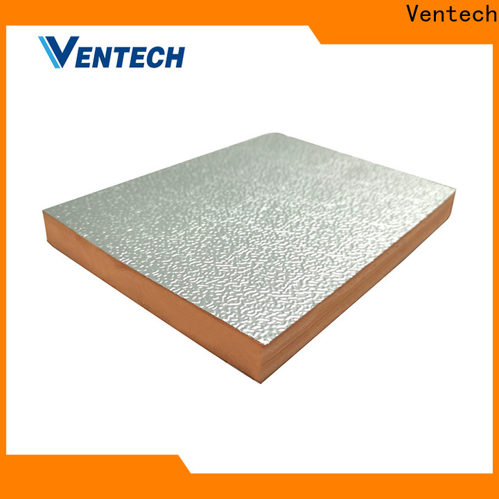 Ventech light weight pre insulated duct panel factory direct supply best brand