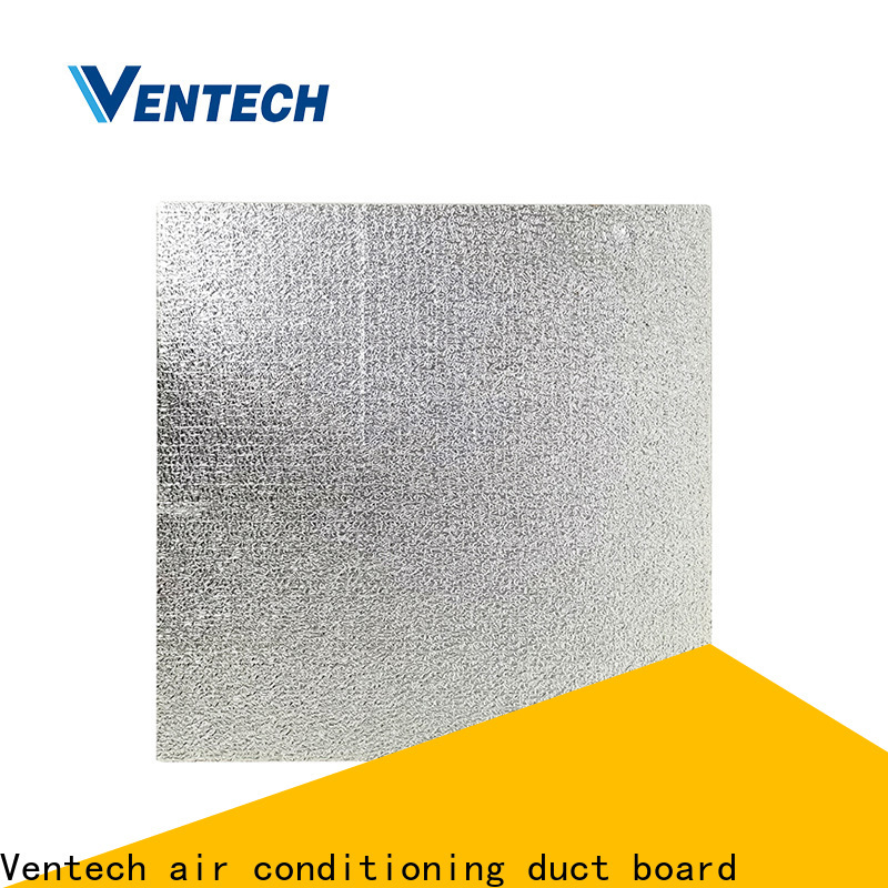 light weight foil covered fiberglass duct board supply manufacturer