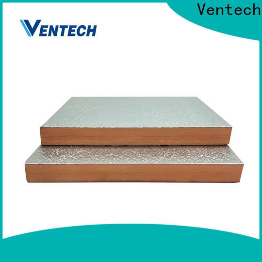 Ventech customized phenolic insulation board company best factory price