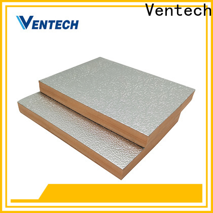 Ventech phenolic duct board supplies for wholesale