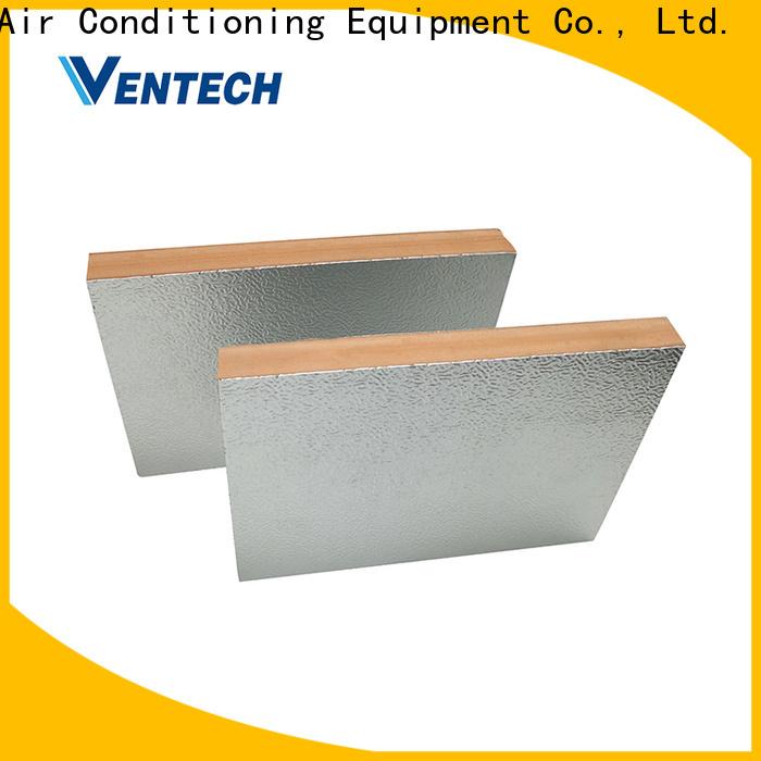 Ventech customized phenolic insulation board manufacturers hot sale best factory price