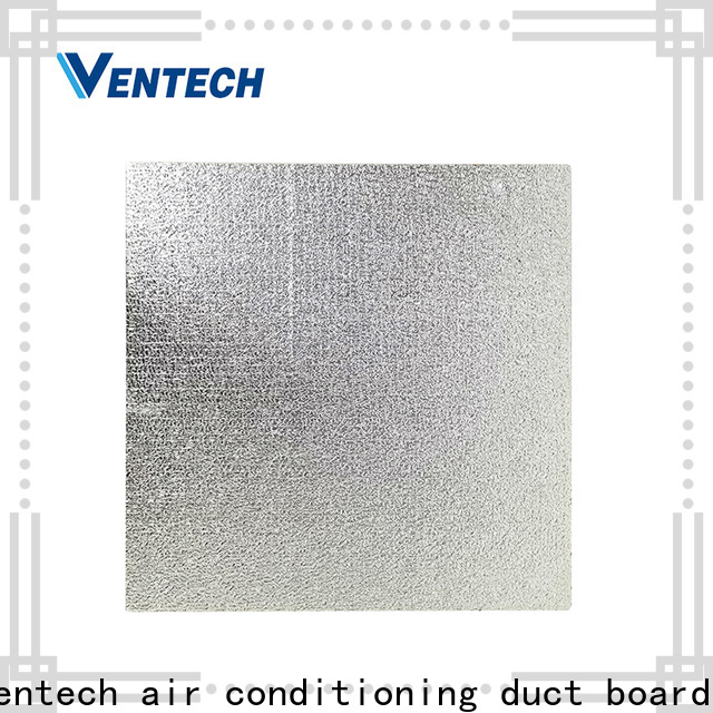 Ventech light weight pre insulated duct panel factory direct supply fast delivery