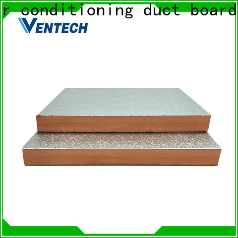 Ventech good interchangeability phenolic foam duct board company best factory price