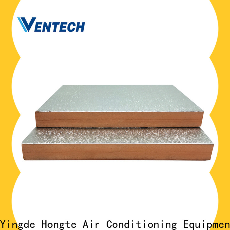 Ventech top phenolic insulation board for business manufacturing