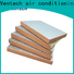 Ventech save material phenolic duct board manufacturing for wholesale