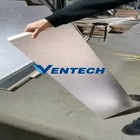VENTECH Phenolic air duct panel still keep good quality after the bending