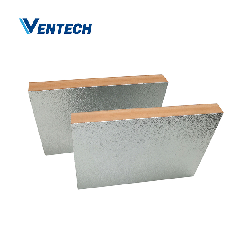 Favorable Price New Design Phenolic Foam Ventech Insulation Duct Pipe