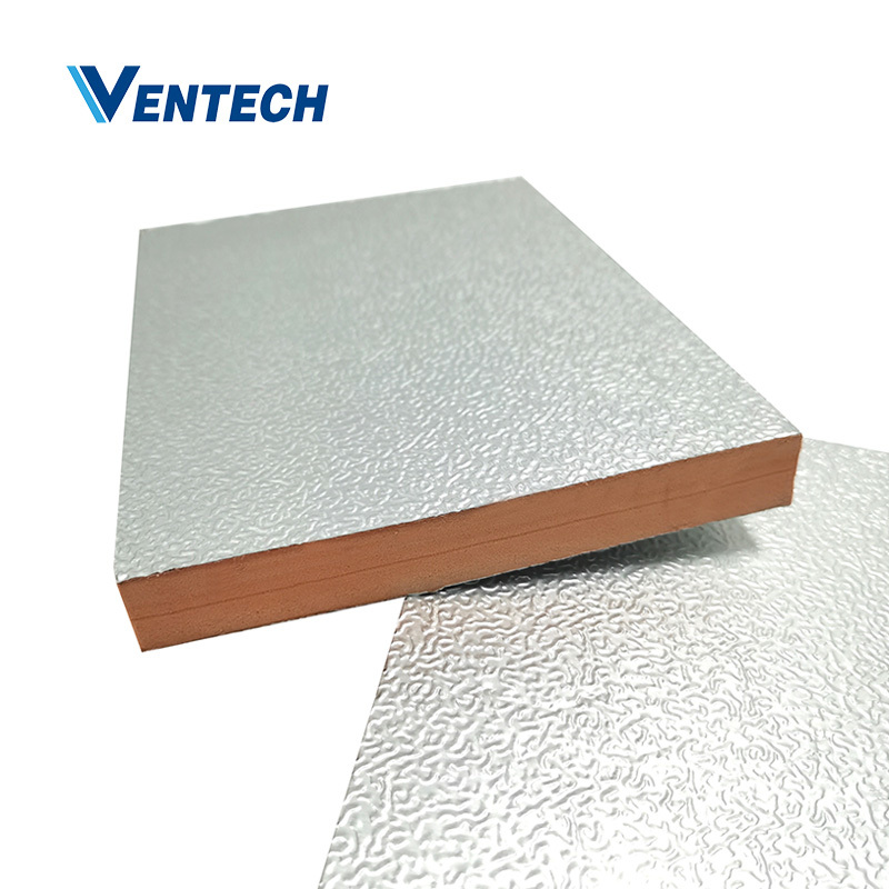 Air Duct Used China Factory Wholesale Custom Fireproof Phenolic Resin Foam Board