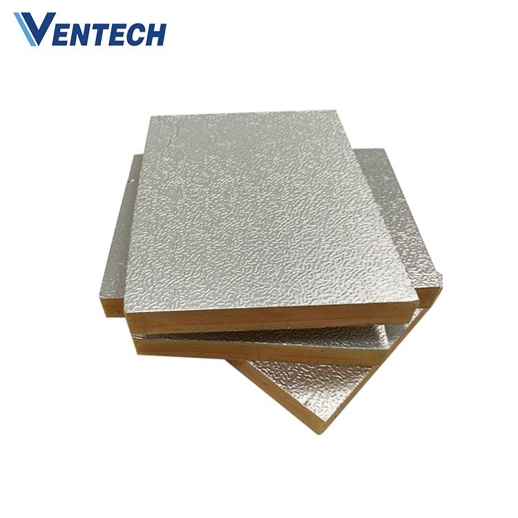 High Quality Hvac Phenolic Foam Pre-insulated Air Duct Panel Phenolic Insulation Board