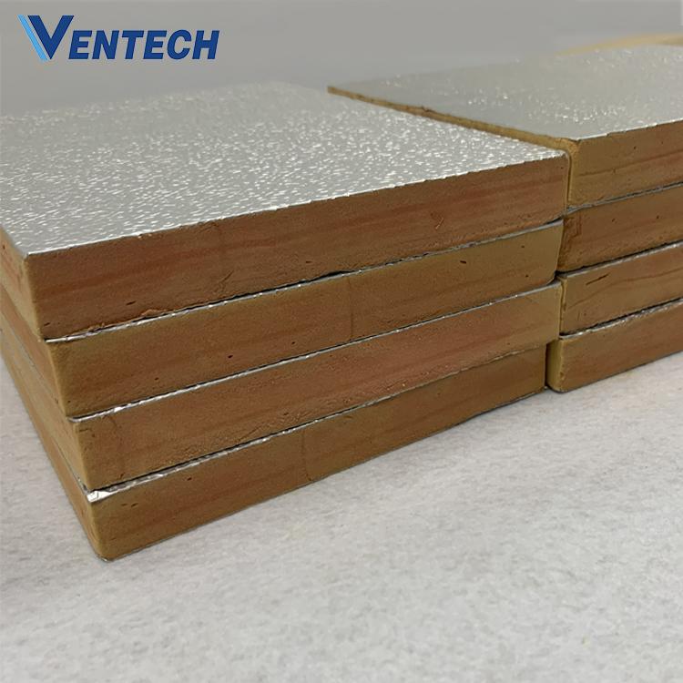 Insulation Duct Hvac System Air Dcut Aluminum Foil Phenolic Foam Board